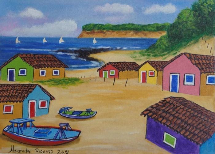 RIBEIRO, Alexandre<br /> Vilage de pêcheurs
