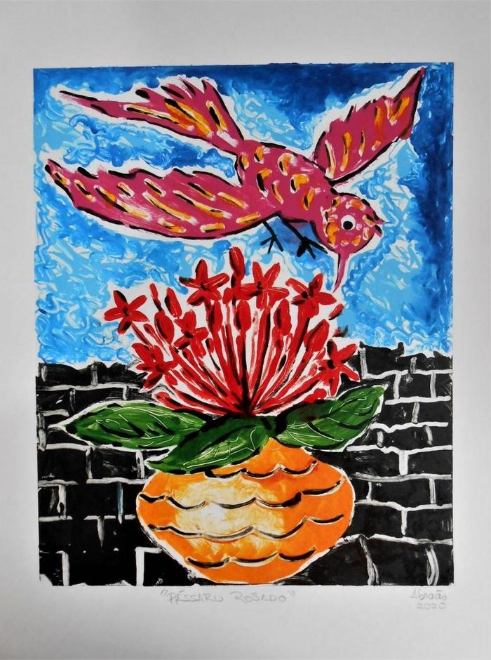 FIGUEIREDO, Abraão<br /> L'oiseau rouge