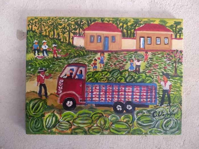 ALTAMIRA<br /> Récolte de pastèques