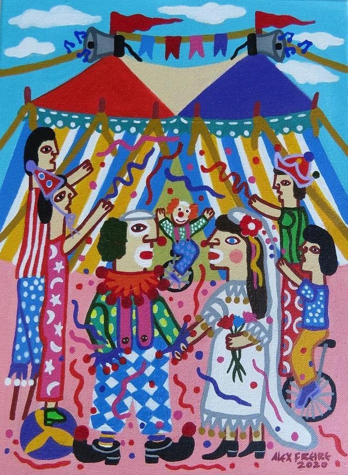 FREIRE, Alex<br /> Le mariage du clown