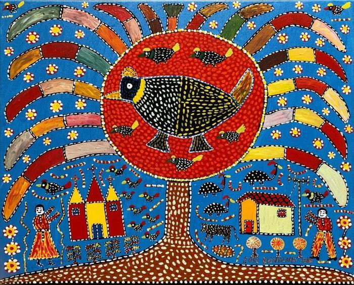 RAIMUNDO, José<br /> Les oisseaux dans l'arbre