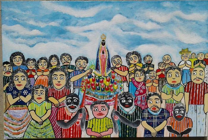 WELLINGTON, José<br /> Procession de l'apparition de Notre-Dame
