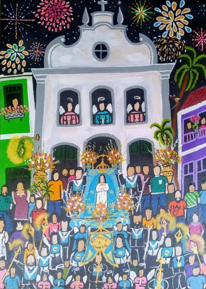 LIMA, Cesar<br /> Procession de bonne mort
