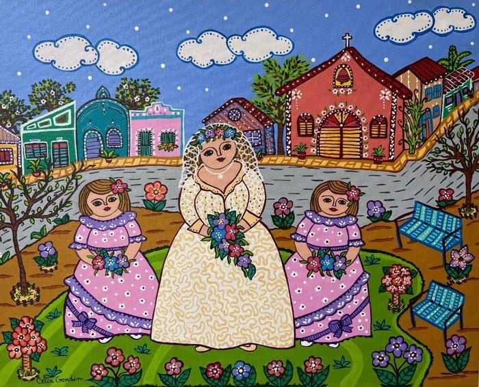 GONDIM, Celia<br /> La mariée du village