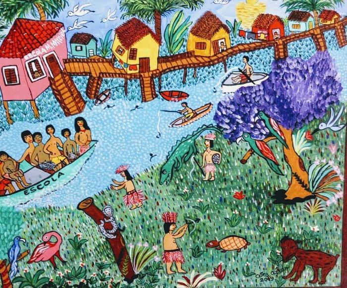 AZEDO, Cora<br /> Sur les rives de l'Amazone