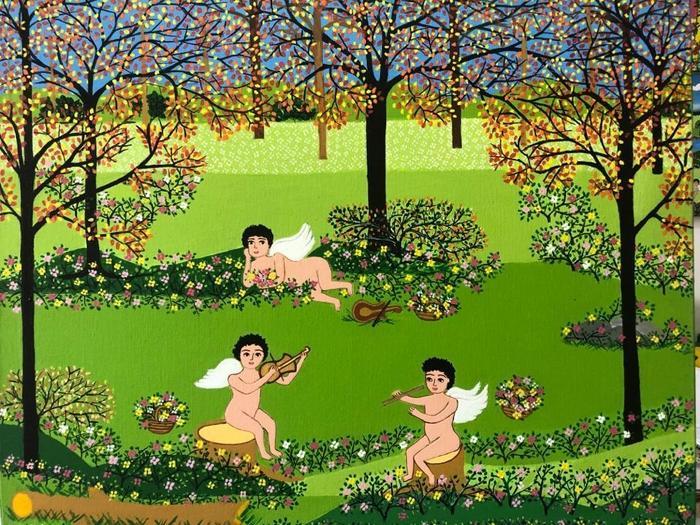 XAVIER, Gildo<br /> Le jardin des anges
