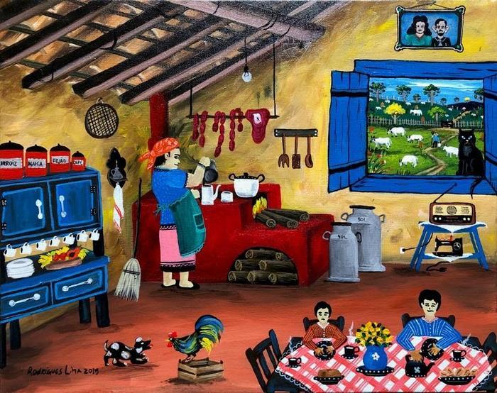 LIMA, Rodrigues<br /> Petit déjeuner à la campagne